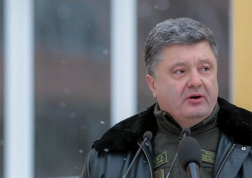 Präsident Pjotr Poroschenko