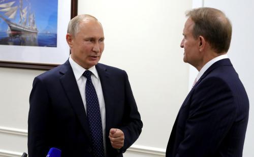 Wladimir Putin und Wiktor Medwedtschuk