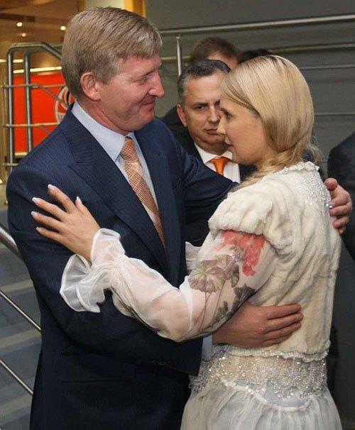 Rinat Achmetow und Julia Timoschenko