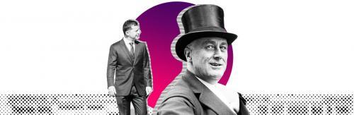 Wolodmyr Selenskyj und Theodor Roosevelt