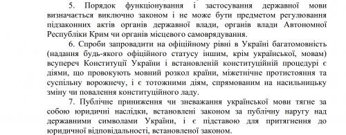 gestrichene Strafandrohung im ukrainischen Sprachgesetz