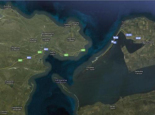 Straße von Kertsch - Google Maps
