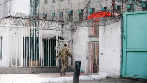 Eingang zur Strafkolonie 4 in Schytomyr