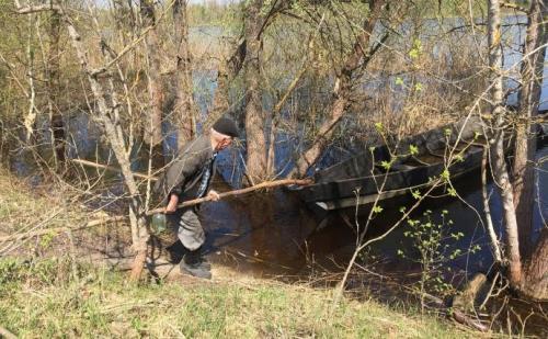 Tschernobylrückkehrer Leonid Petrowytsch Ryndjuk
