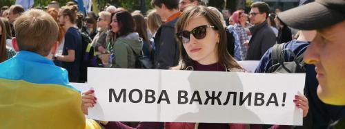 Ukrainisch ist wichtig ...