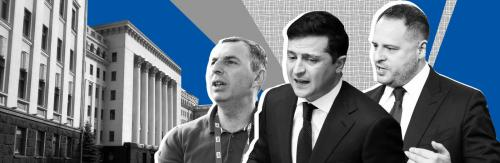 Troika: Serhij Schefir, Wolodymyr Selenskyj und Andrij Jermak - Ukrajinska Prawda