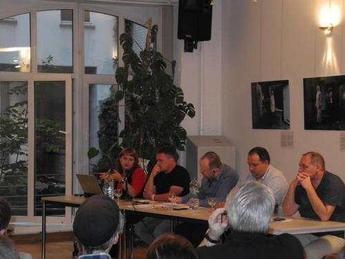 Bild von der Veranstaltung über Menschenrechte in der Ostukraine