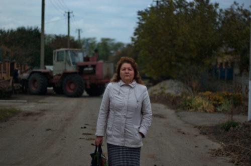 Wahlkommissionsleiterin Lidija Kossogorowa