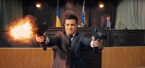 Standbild aus Sluha Narodu 2 -Wassyl Holoborodko / Wolodymyr Selenskyj erschießt die Radaabgeordneten