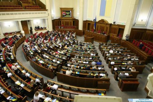 Werchowna Rada - ukrainisches Parlament