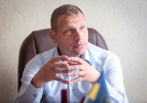 Werksdirektor Igor Lewizkij