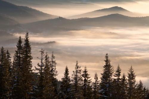 Winter in den ukrainischen Karpaten 10