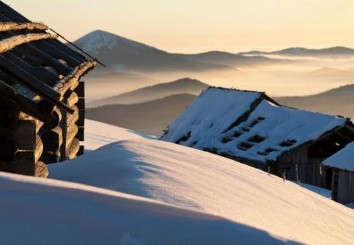 Winter in den ukrainischen Karpaten 11