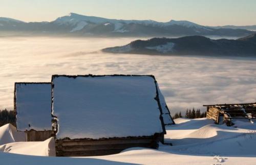 Winter in den ukrainischen Karpaten 17