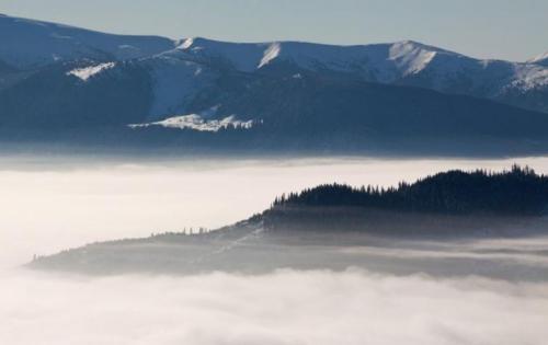 Winter in den ukrainischen Karpaten 3