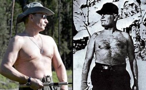 Wladimir Putin vs. Benito Mussolini