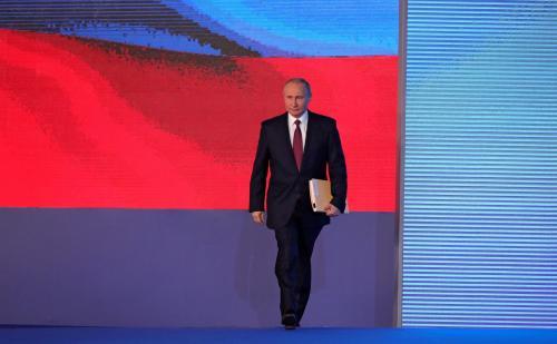 Wladimir Putin - Botschaft an den Föderationsrat 2018