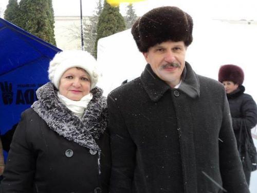 Wladimir und Tatjana Bondartschuk