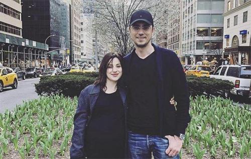 Wolodymyr Omeljan mit Ehefrau Switlana Bewsa