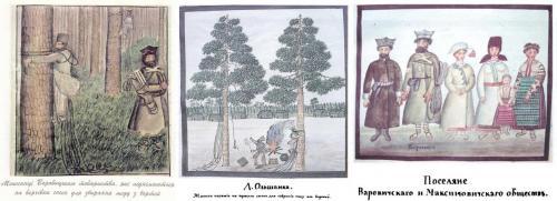 Die Zeidlerei war auf dem Territorium der Ukraine, Polens, Belarus, Litauens und anderer europäische Länder und in Baschkirien bis hinter den Ural verbreitet
