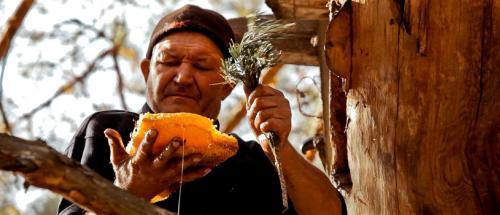 In der Ukraine gibt es noch Träger dieser Tradition