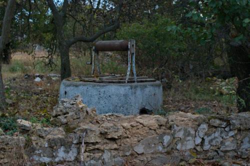 alter Brunnen in Mirnoje