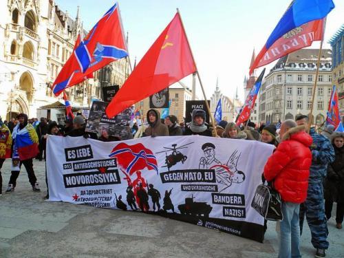 Antiimp-Clowns gegen Nato, EU und ukrainische Bandera-Nazis 2