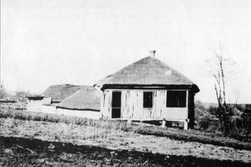 Infolge der Hungersnot ausgestorbenes Dorf, Gebiet Charkiw