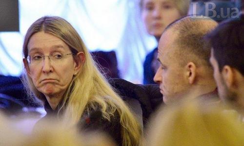 geschäftsführende Gesundheitsministerin Uljana Suprun