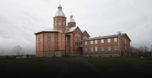 griechisch-katholische Kirche in Swaniwka, Gebiet Donezk