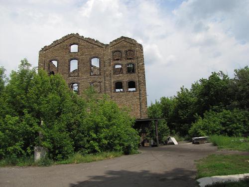 Eine französische Kokerei in Makejewka heute. Das war der erste Betrieb dieser Art im Donbass.