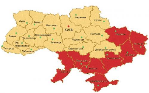 Aufteilung der Ukraine 2