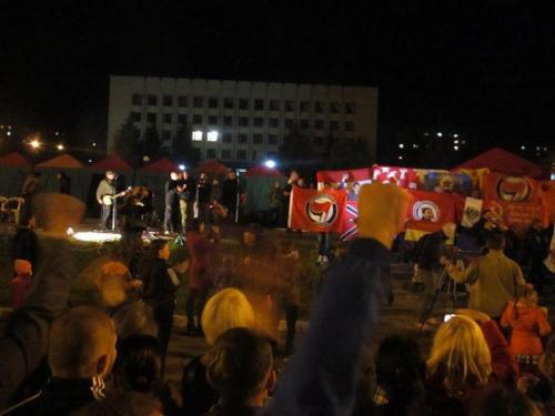 """Konzert für Teilnehmer eines """"antifaschistischen"""" Forums in Altschewsk"""