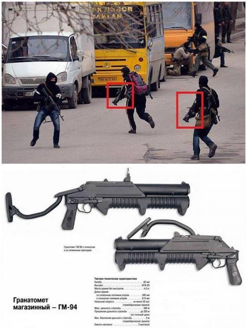 angebliche westukrainische Terroristen Simferopol