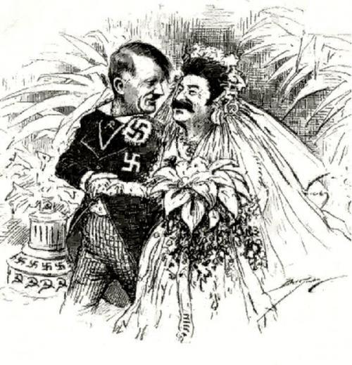 Hitler und Stalin vereint