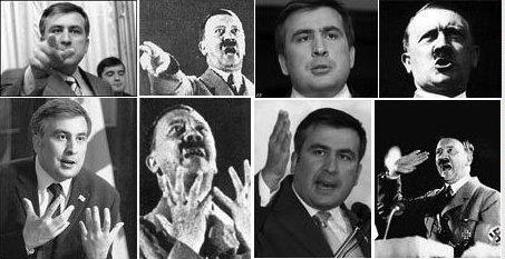 Saakaschwili Hitler