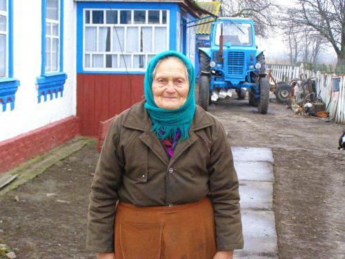 staatlicher Vandalismus 5 - Halyna Bassanska - Jaworiwka