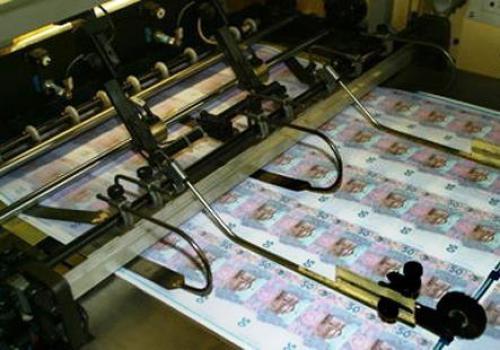 ukrainische Gelddruckmaschine