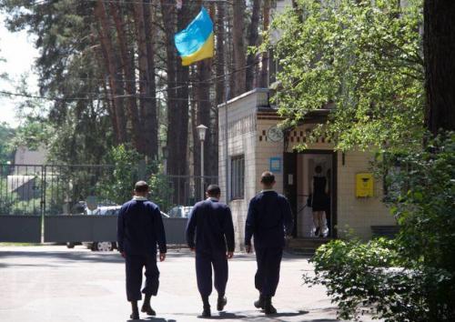 ukrainische Kaserne