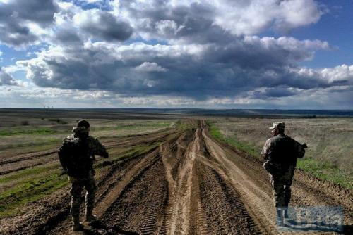 Die Ukraine und der Krieg - ukrainische Soldaten