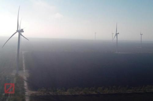 ukrainische Windräder